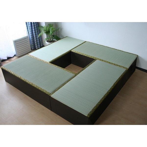高床式ユニット畳セット(1畳タイプ4本セット)