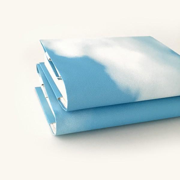 文庫〜A5判 サイズ豊富 :) 青空ブックカバー BOOK COVER BLUE SKY 文庫本/新書判/四六判/B6判/A5判/手帳/オーダーサイズ ハンドメイド|komaki|04