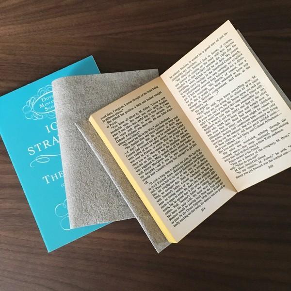 文庫〜A5判 サイズ豊富 :) コンクリートブックカバー Simpler BOOK COVER CONCRETE  文庫本/新書判/四六判/B6判/A5判/手帳/オーダーサイズ ハンドメイド komaki 04