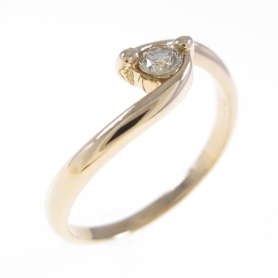 【メーカー包装済】 K18PG ダイヤモンドリング, ダンス 衣装 B系 SHOOWTIME d253252f