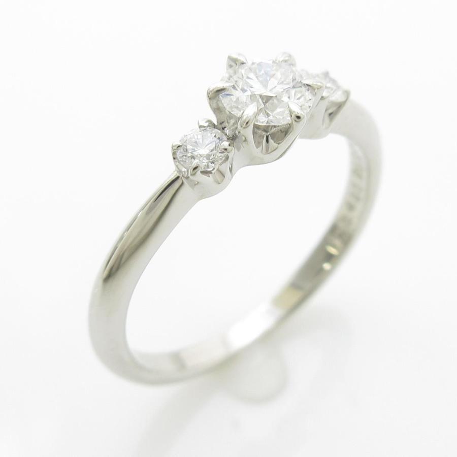 【クーポン対象外】 ミキモト ダイヤモンドリング 0.23ct, サカチョウ 5d170024