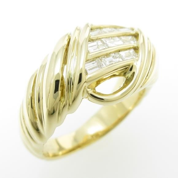 (お得な特別割引価格) K18YG ダイヤモンドリング, ももたろうのしっぽ:4e002ef1 --- airmodconsu.dominiotemporario.com