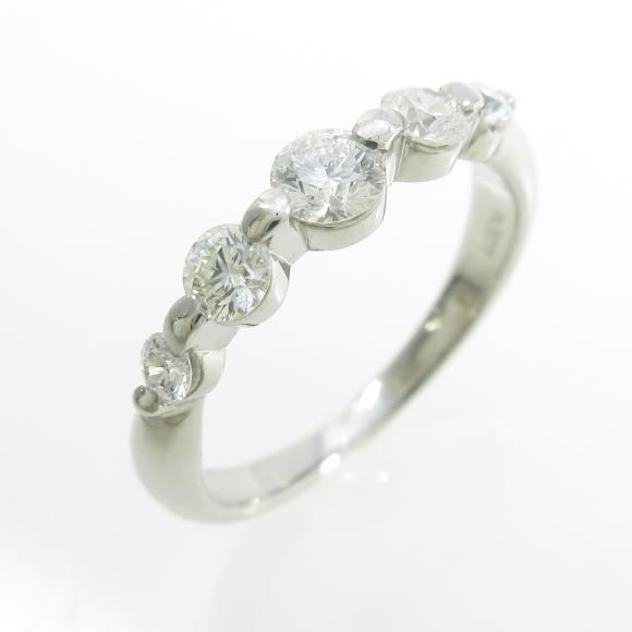 【予約販売品】 PT ダイヤモンドリング, カデンショップ c24f200a