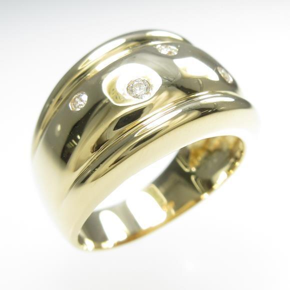 【正規通販】 K18YG ダイヤモンドリング, ミナト電機工業:d49131f3 --- airmodconsu.dominiotemporario.com