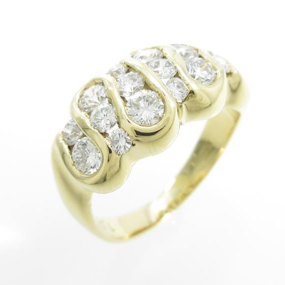 人気特価 K18YG ダイヤモンドリング, タンタンポッポ:86a751a5 --- airmodconsu.dominiotemporario.com