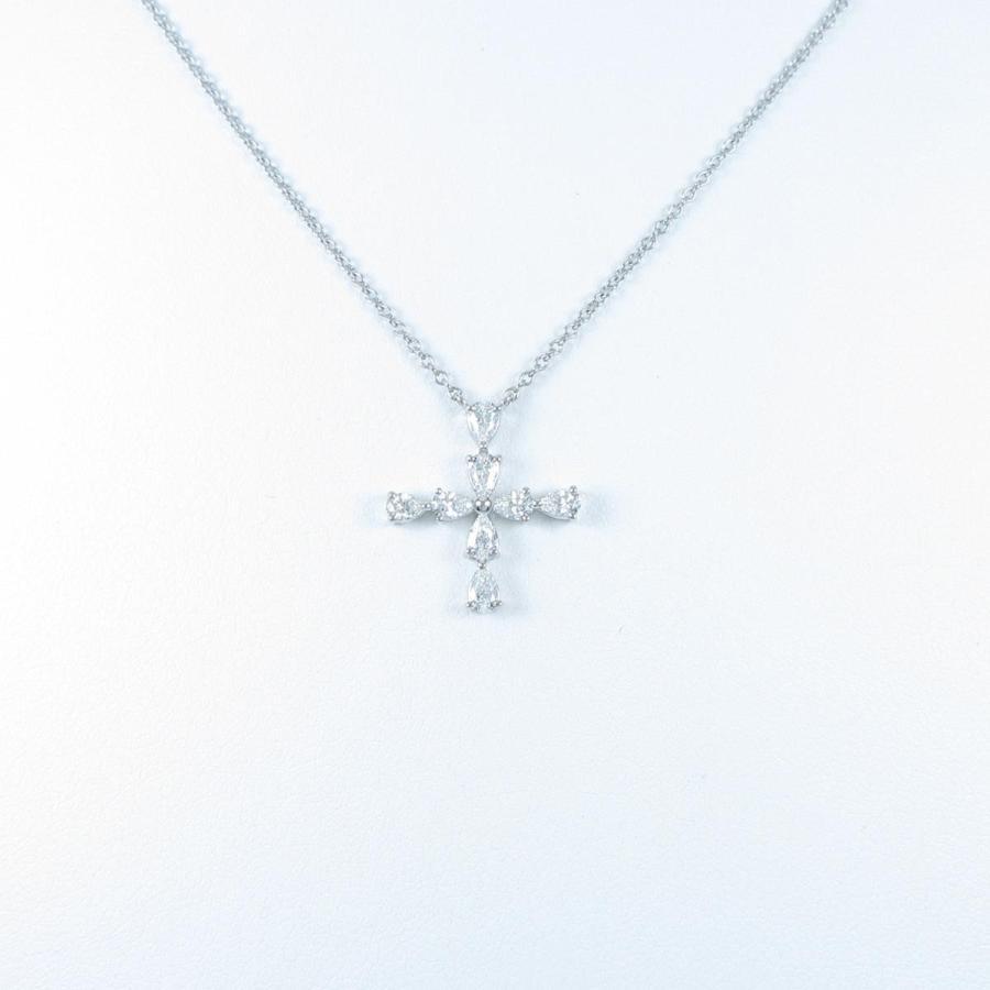 激安超安値 ハリーウィンストン ペアシェイプミニクロス ネックレス, クロイソシ f9410318