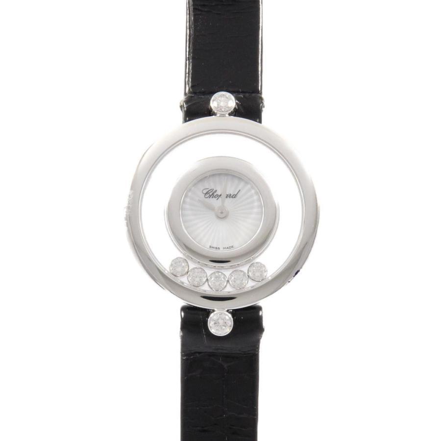 日本初の ショパール 209415−1001 ハッピーダイヤモンド WG・5P クォーツ, デリシャスハーツ ef789ba5