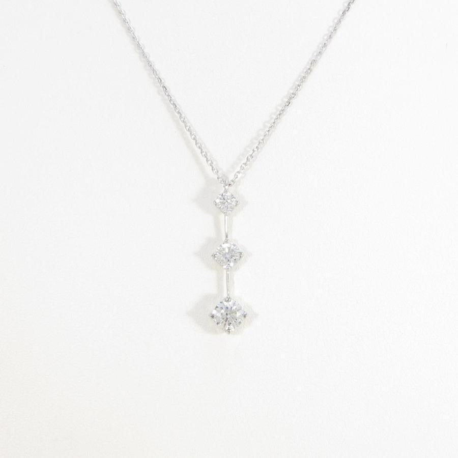 【SALE】 デビアス スリーストーン ダイヤモンドネックレス, コクミンドラッグ 12f83b0e