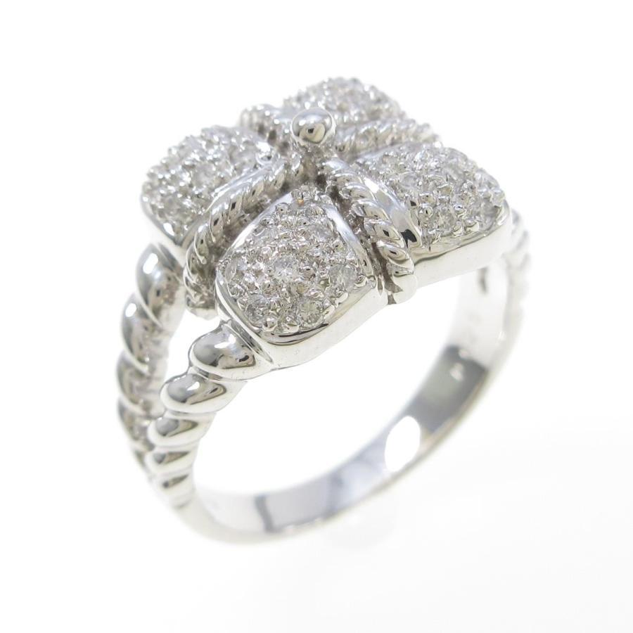 最新デザインの K18WG ダイヤモンドリング, トラックストップターン:ba2a97be --- airmodconsu.dominiotemporario.com