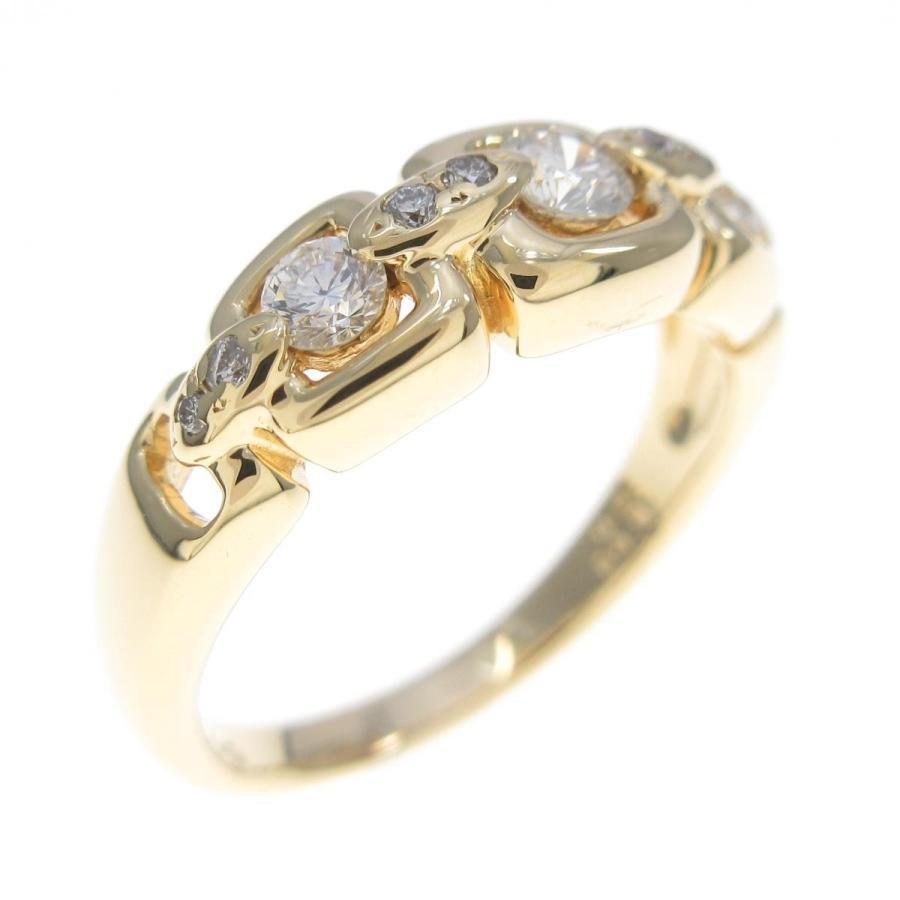超歓迎された K18YG ダイヤモンドリング, おちゃのこさいさい 5758a84c