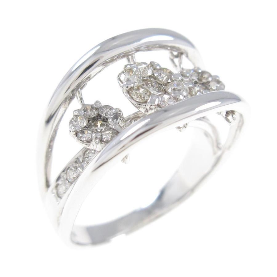【5%OFF】 K18WG フラワー ダイヤモンドリング, コトオカマチ:8dd43026 --- airmodconsu.dominiotemporario.com