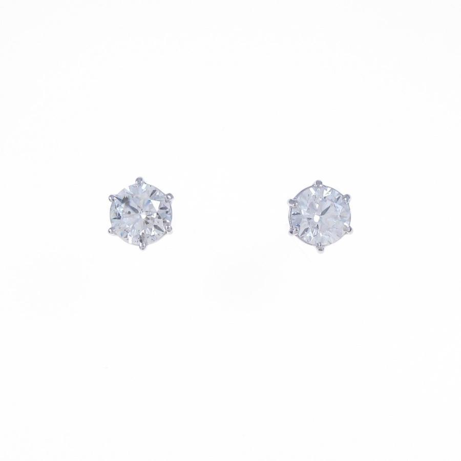 超安い品質 プラチナダイヤモンドピアス 0.398ct・0.433ct・H−I・SI2・VG−GOOD, 韓国商品館:8a29e0f7 --- airmodconsu.dominiotemporario.com