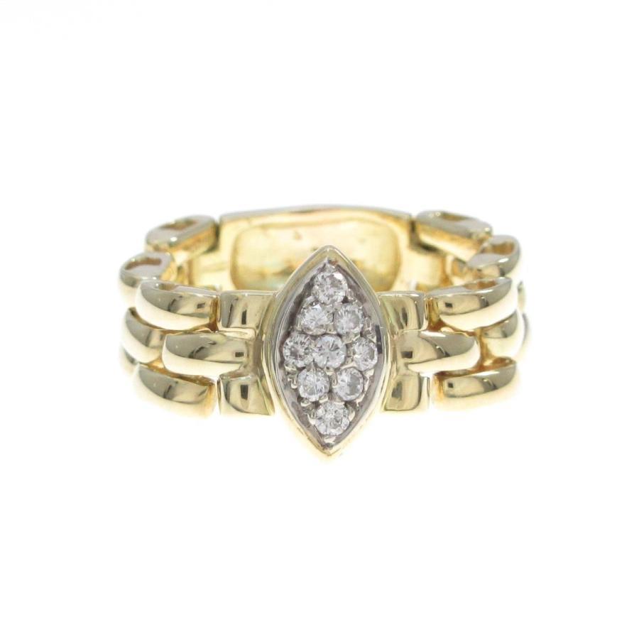 予約販売 750YG/750WG ダイヤモンドリング, シャナムラ:f1541da9 --- airmodconsu.dominiotemporario.com