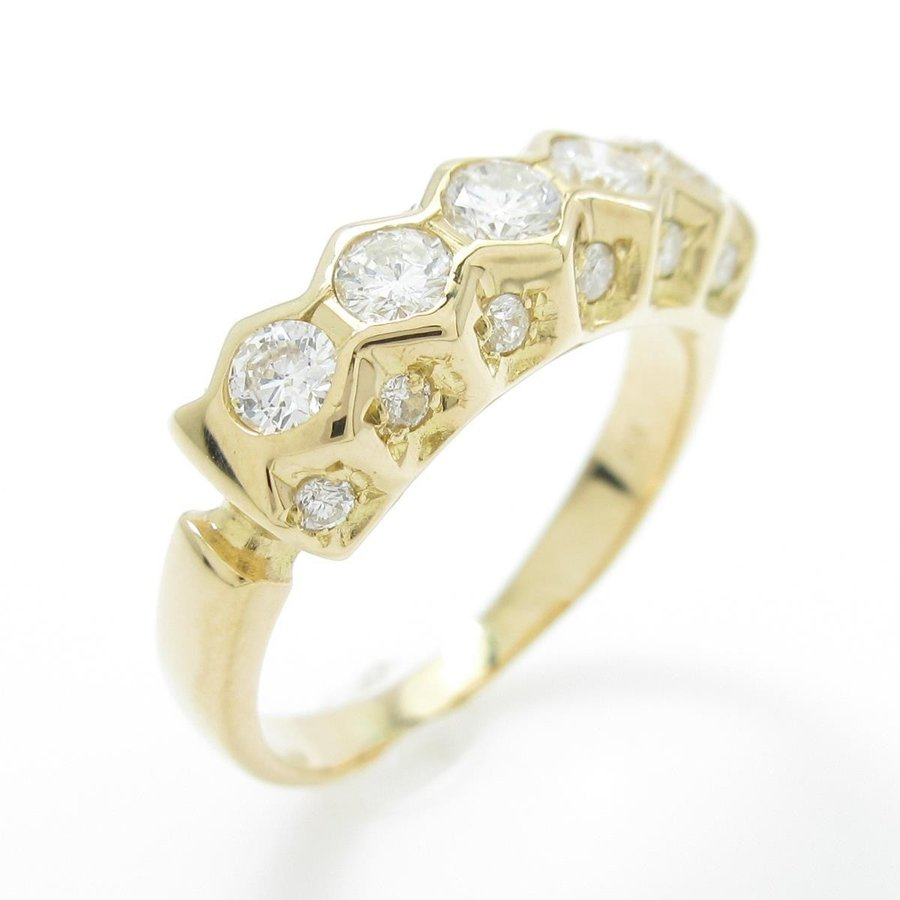 お見舞い K18YG ダイヤモンドリング, アシヤマチ:fa7481fa --- airmodconsu.dominiotemporario.com