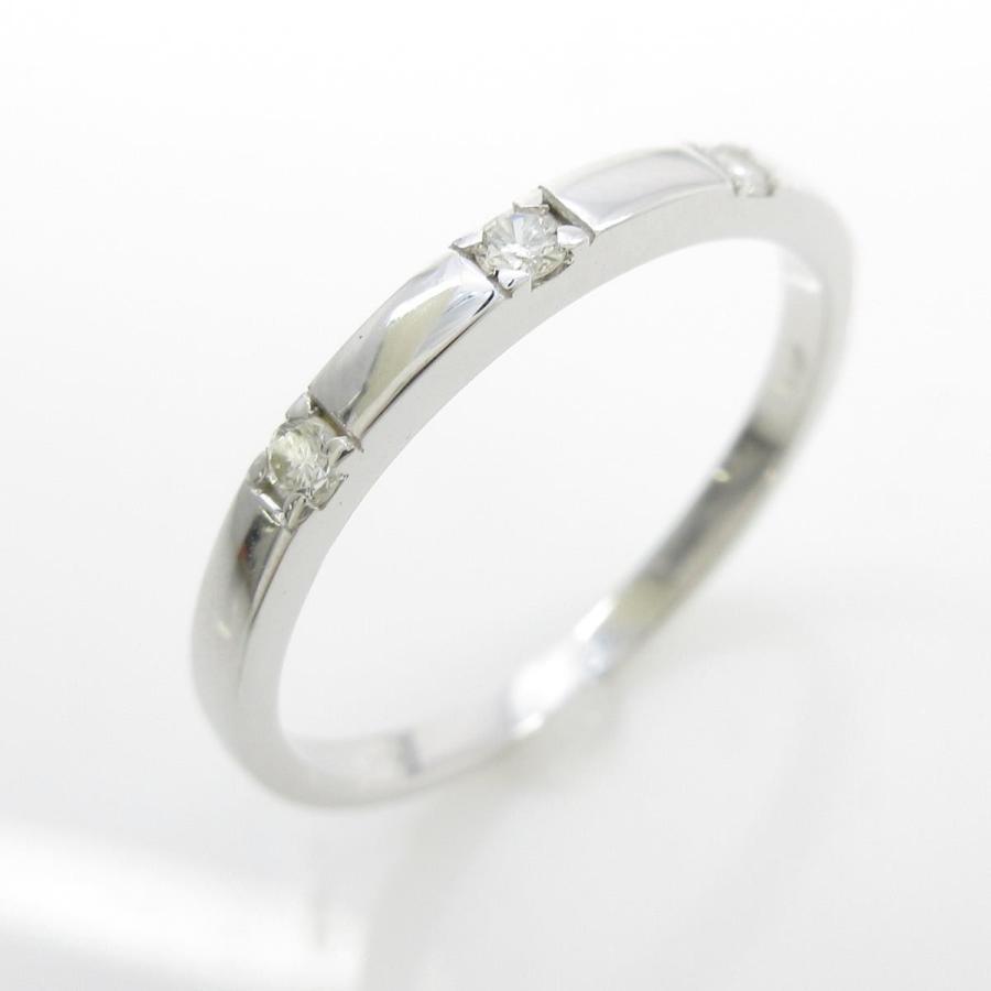 大きな割引 【リメイク】K18WG スリーストーン ダイヤモンドリング, ナチュラルショップ ライサ 156c6b2e