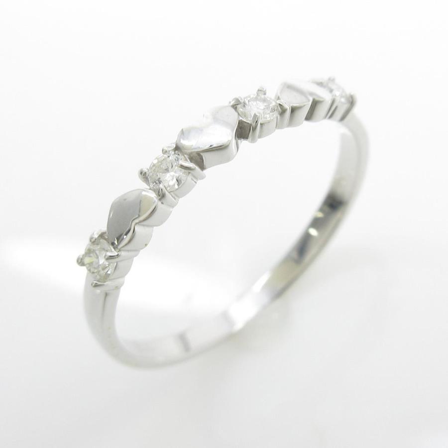 注目の 【リメイク】K18WG ハート ダイヤモンドリング, Masters collection b944f3c6