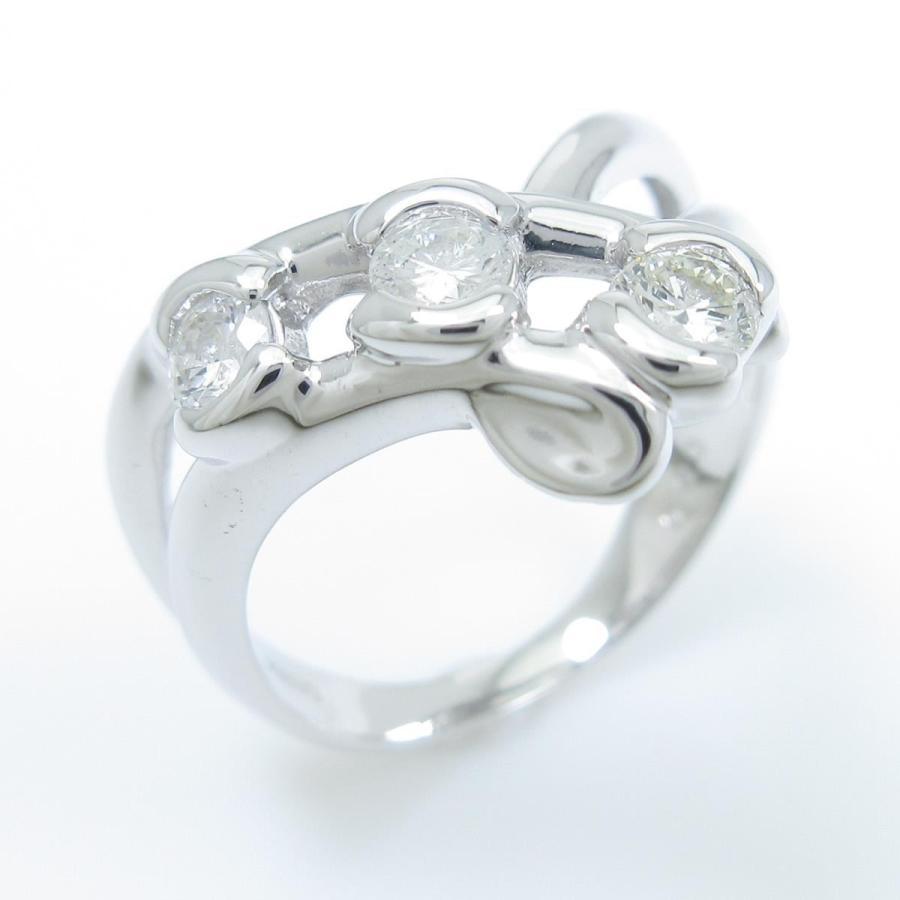 品質が K18WG スリーストーン ダイヤモンドリング, シングウマチ:6a97af8c --- airmodconsu.dominiotemporario.com