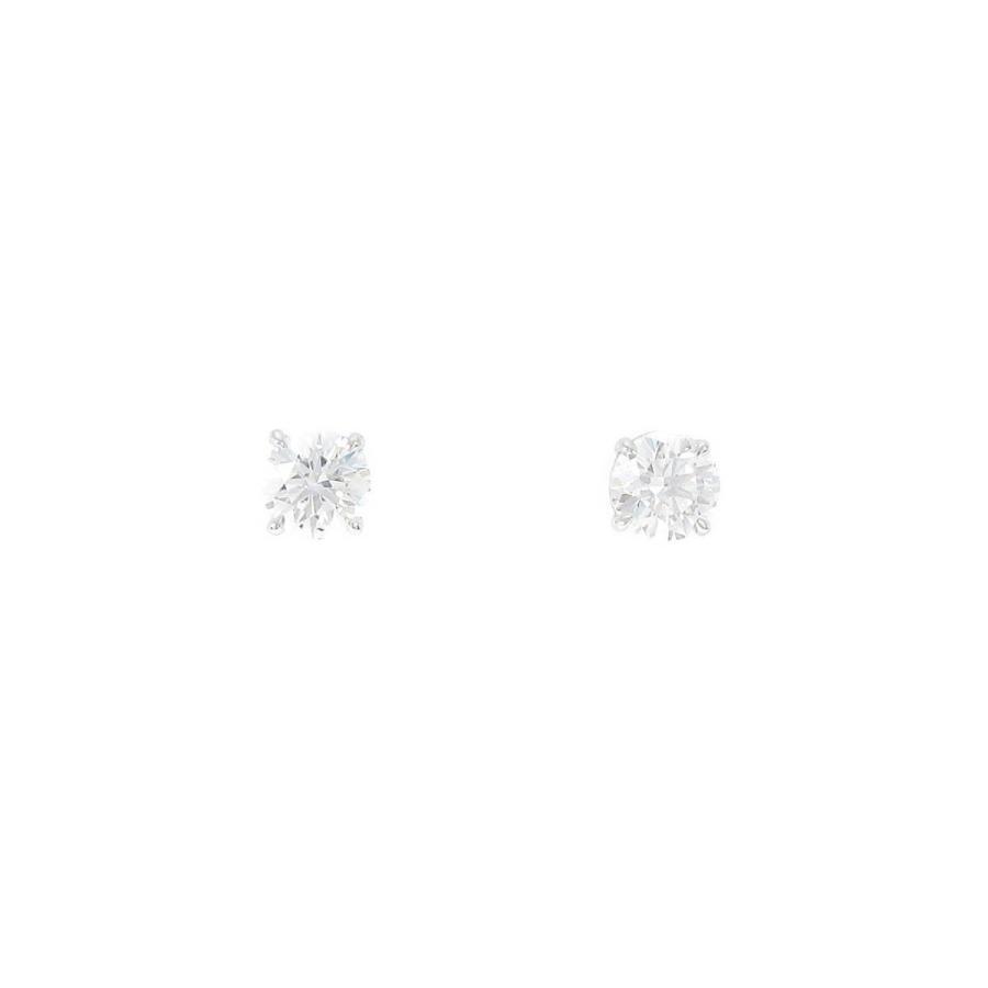 一番の ハリーウィンストン ソリティア イヤスタッズ 0.42ct・0.41ct・D・VVS2, トマリムラ b24736d3