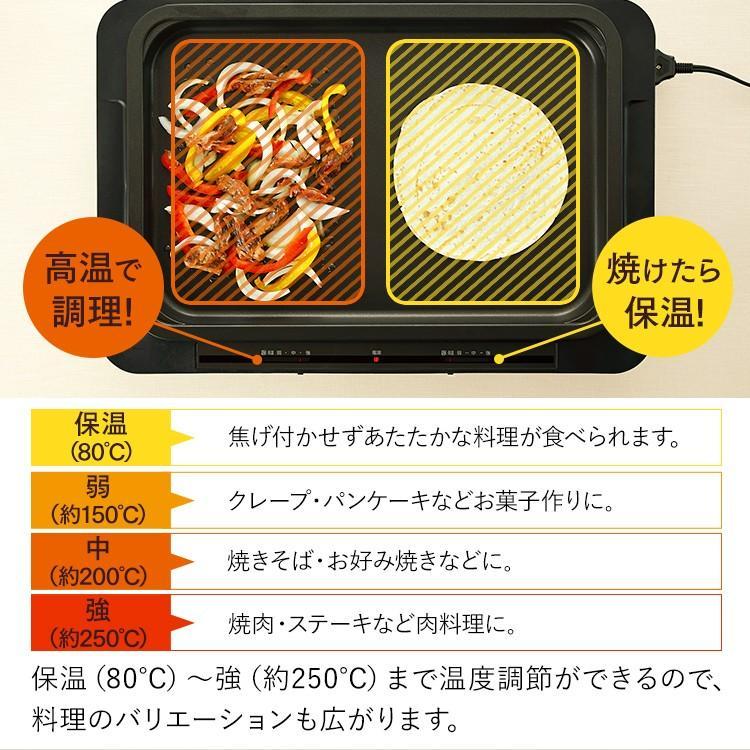 ホット プレート 温度 焼肉