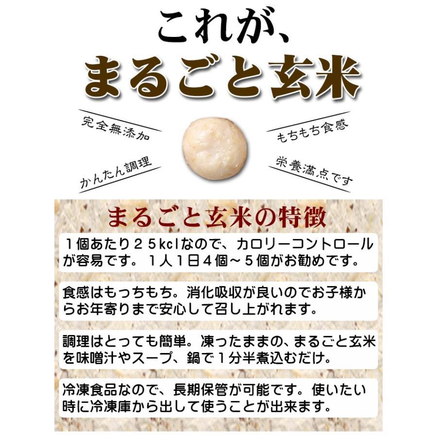 【送料無料】>栄養満点の無添加のお団子 『まるごと玄米』10袋入 お鍋やスープあらゆる料理にアレンジできます。 komenouka 05