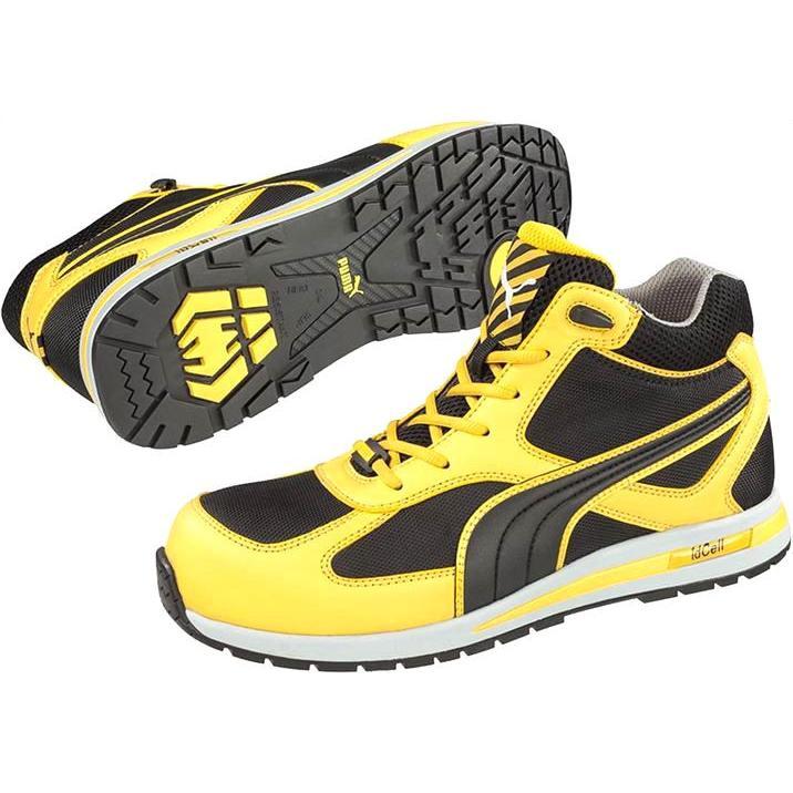 PUMA安全靴 63.202PUMA·S FT イエロー 25.0cm