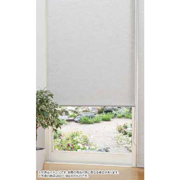 麻風チェーン式ロールスクリーン 165×220 毎日続々入荷 半額 ナチュラル