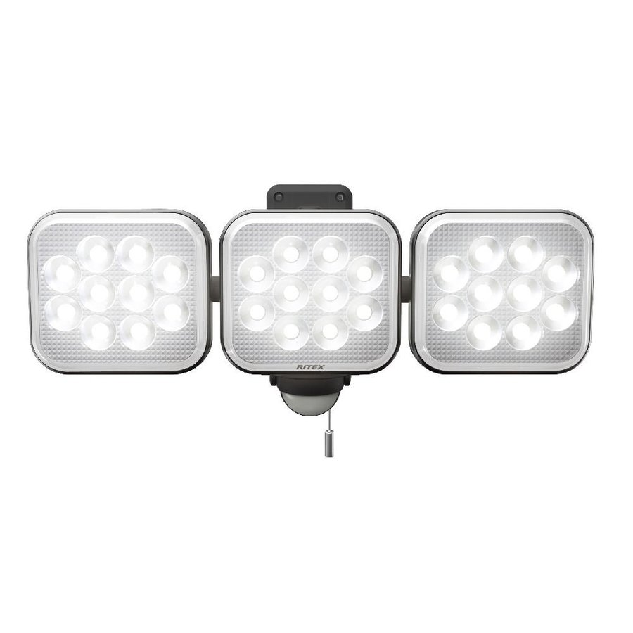 12W×3灯 フリーアームセンサーライト 送料込 LED−AC3036 新生活