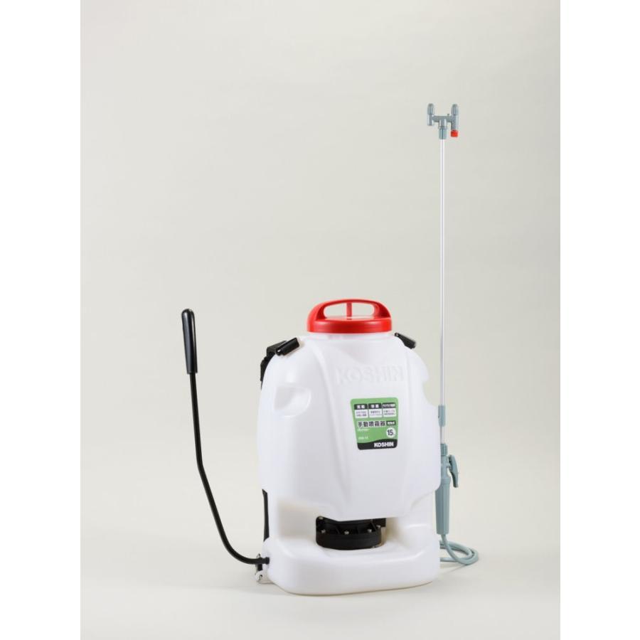 背負い手動式噴霧器15L RW−15