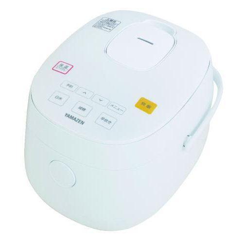 山善 糖質カットマイコン炊飯器 3合炊き ホワイト YJF·M30CC(W)
