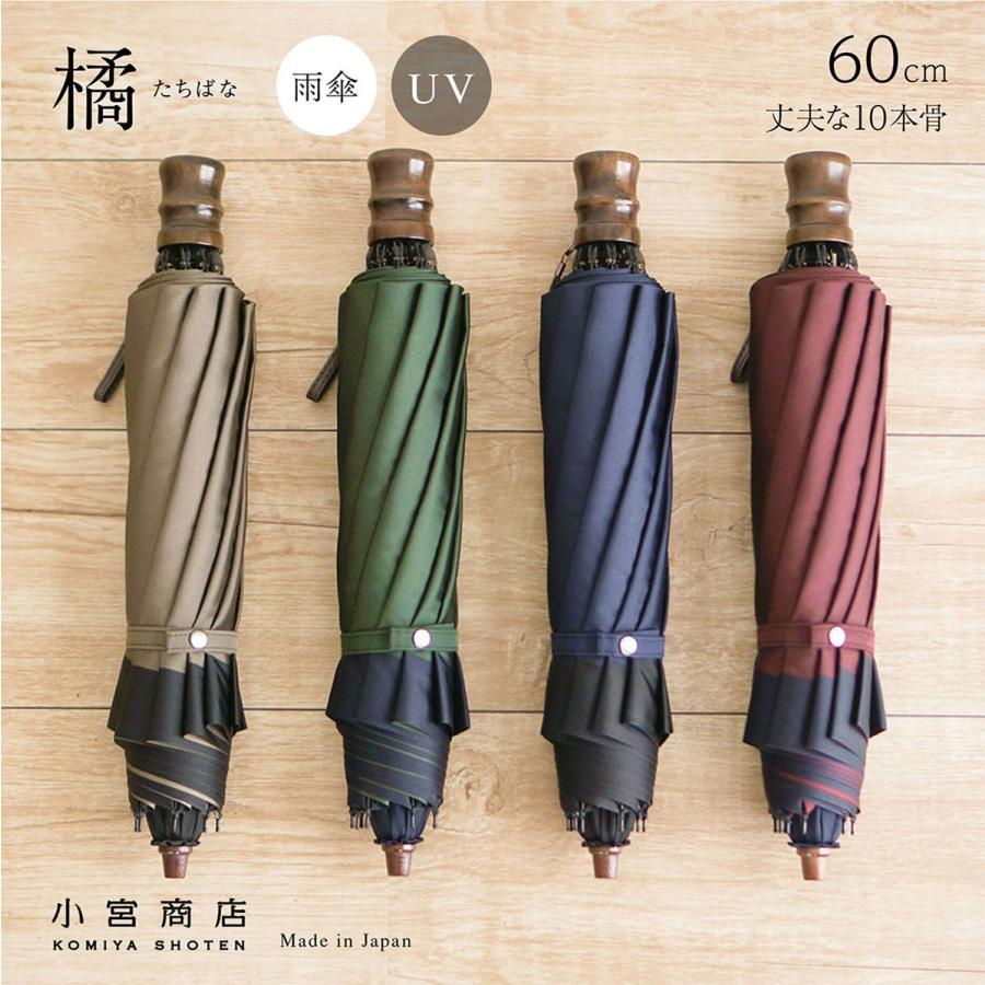 折りたたみ傘 メンズ おしゃれ 風に強い 丈夫 2段折 日本製