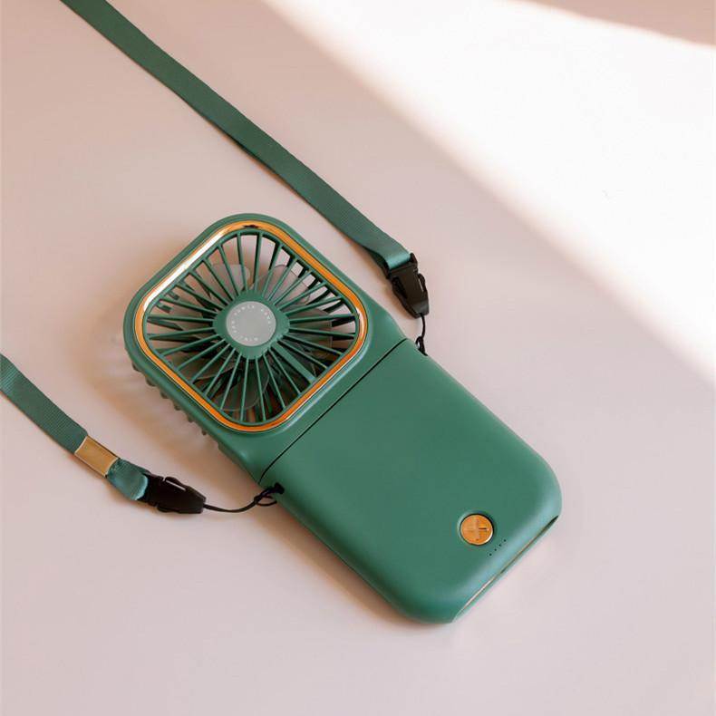 ハンディファン ミニ扇風機 首かけ 静音 ハンディ 扇風機 手持ち 卓上 携帯 折りたたみ 手持ち扇風機 卓上扇風機 USB充電 給電機能 komonogenza 11
