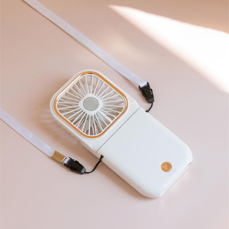 ハンディファン ミニ扇風機 首かけ 静音 ハンディ 扇風機 手持ち 卓上 携帯 折りたたみ 手持ち扇風機 卓上扇風機 USB充電 給電機能 komonogenza 08