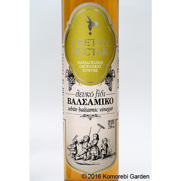 VIOS バルサミコ醸造酢 白 250ml komorebi 02