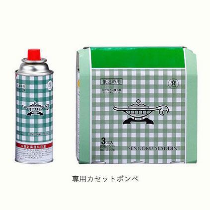 センゴクアラジン カセットボンベ3本セット SAG-B3P ポータブルガスシリーズ専用カセットボンベ CB缶 kompas