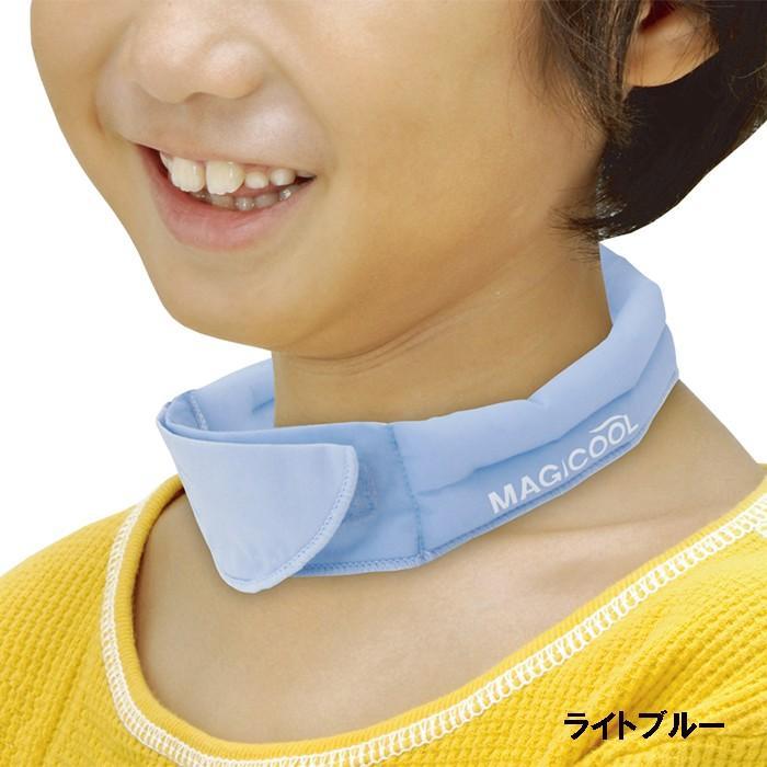 冷感持続 抗菌防臭 マジクール ネッククーラー Kids キッズ こども用 子供用 首もと ひんやり 熱中症対策 暑さ対策 MAGICOOL 大作商事 MCFT konan 09
