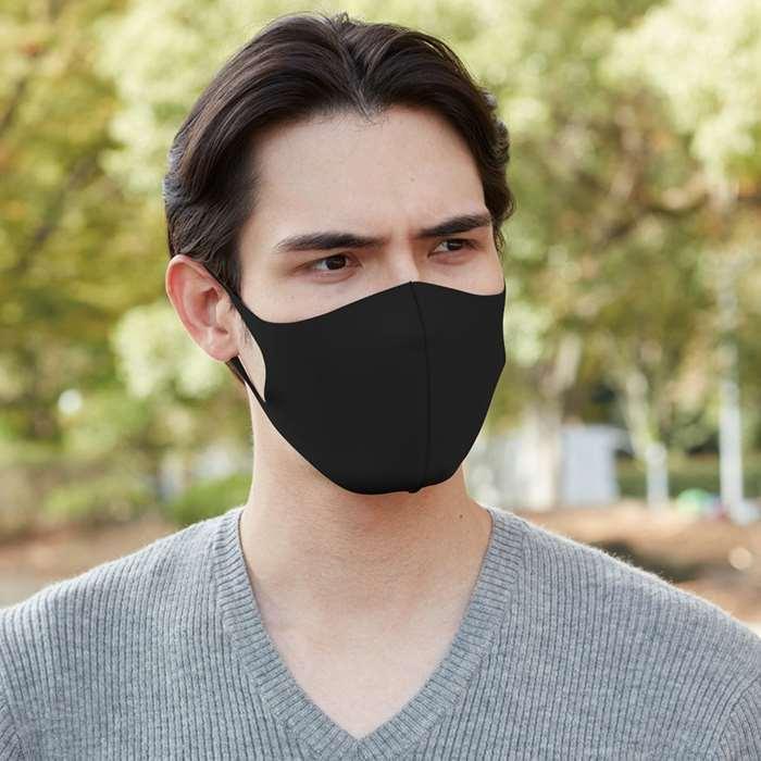 ウルトラパフマスク JIGGLY マスク Lサイズ 洗えるマスク 大人用サイズ 全方位フィット構造 ぷるぷる もちもち カラーマスク|konan|05