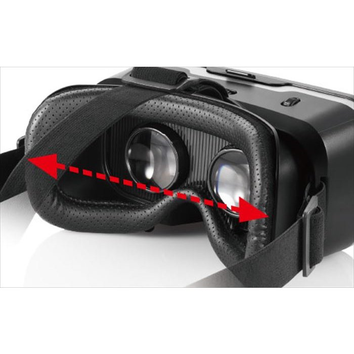 代引不可 VRゴーグル DMMスターターセット 目幅調節機構 スマホ 4.0〜6.5インチ対応 ブラック エレコム VRG-D02PBK konan 04