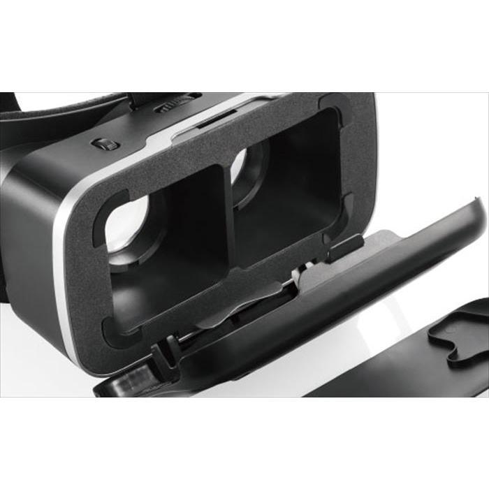 代引不可 VRゴーグル DMMスターターセット 目幅調節機構 スマホ 4.0〜6.5インチ対応 ブラック エレコム VRG-D02PBK konan 06