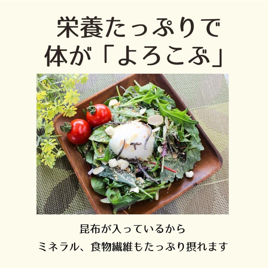 よろこぶドレッシング(チーズ味) チーズ 昆布 粉ドレッシング ドレッシング サラダ ふりかけ シーザーサラダ 調味料 食品 konbu-torii 05