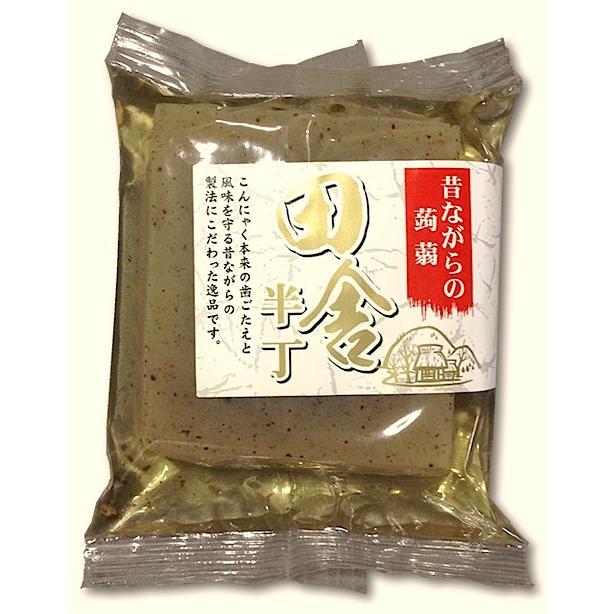 田舎半丁板こんにゃく 国産原料 使い切りサイズ、おでんに最適です konnyaku-jp