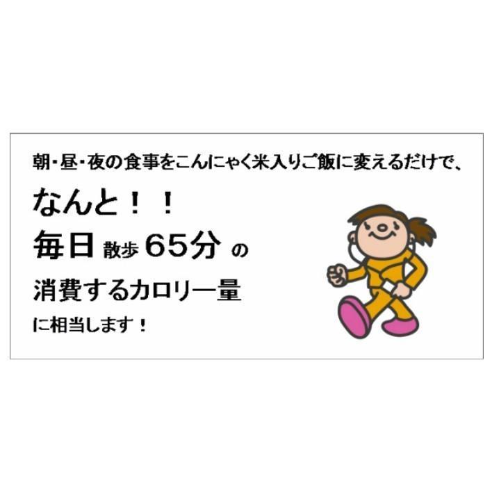 乾燥こんにゃく米(国内加工)【お得な30袋】こんにゃくごはん  |konnyakuclub|05