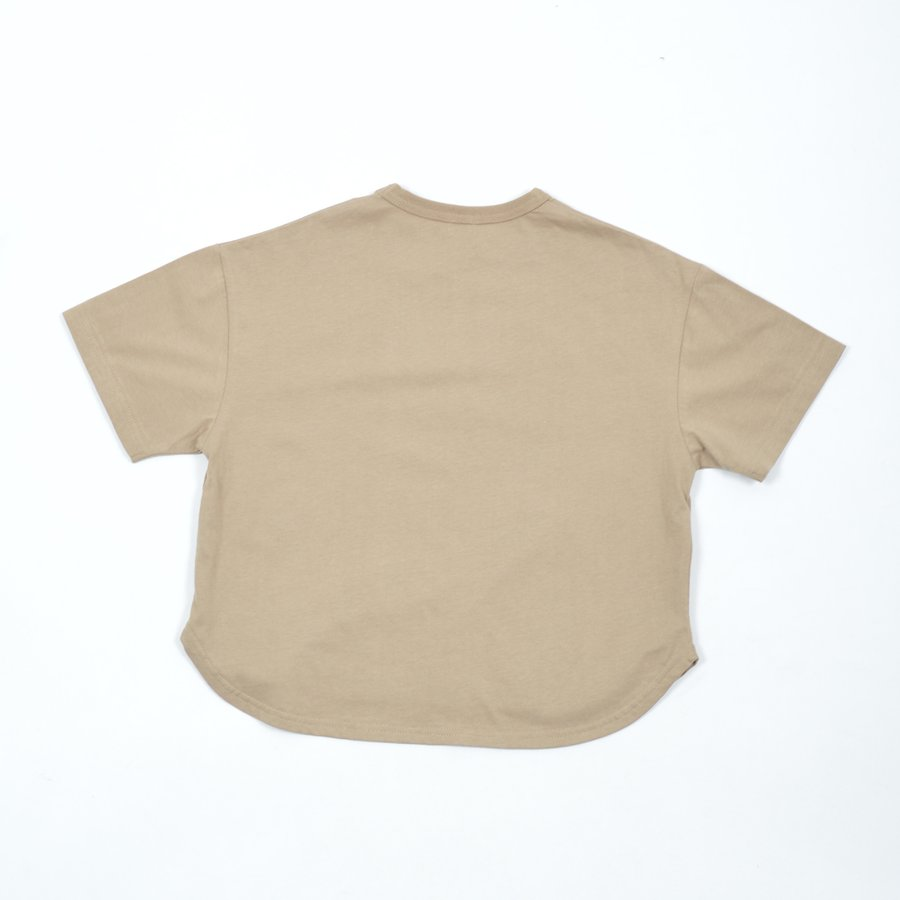 FOV / フォブ  子供服 MICKEY 6分丈Tシャツ ビッグシルエット 男の子 女の子 2021SS|kooka|02