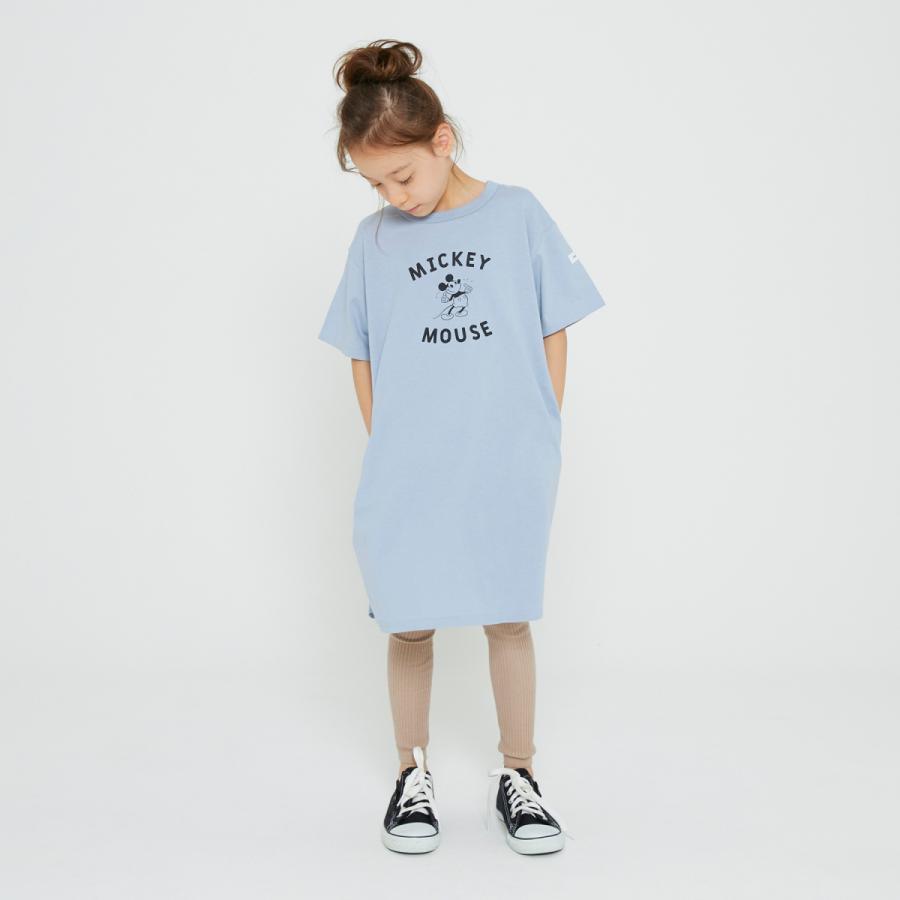 FOV / フォブ  子供服 MICKEY ワンピース ゆったりシルエット 女の子 2021SS kooka 03