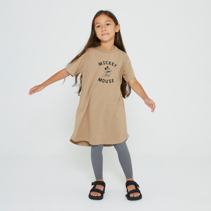 FOV / フォブ  子供服 MICKEY ワンピース ゆったりシルエット 女の子 2021SS kooka 04
