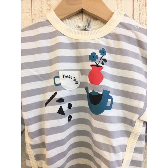 AMPERSAND / アンパサンド 子供服 Petit jam ボーダーTシャツ 女の子 2021SS|kooka|03