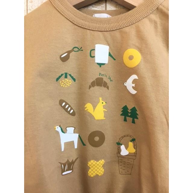 AMPERSAND / アンパサンド 子供服 Petit jam 3柄Tシャツ 女の子 2021SS kooka 03