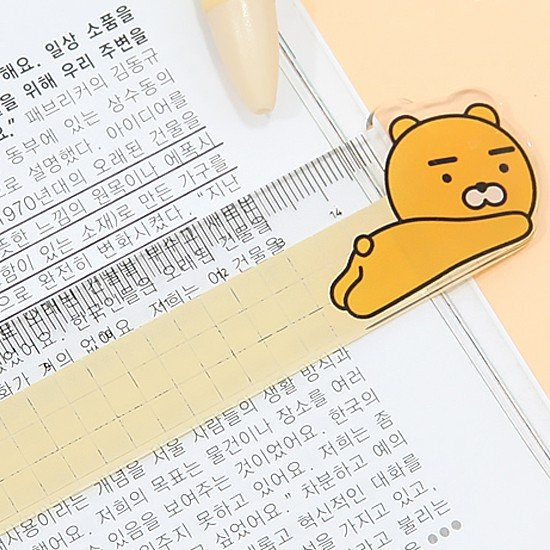 【韓国文具】カカオフレンズ 15cm 定規 [文房具][ものさし][かわいい][KAKAO FRIENDS]|korea-info|05