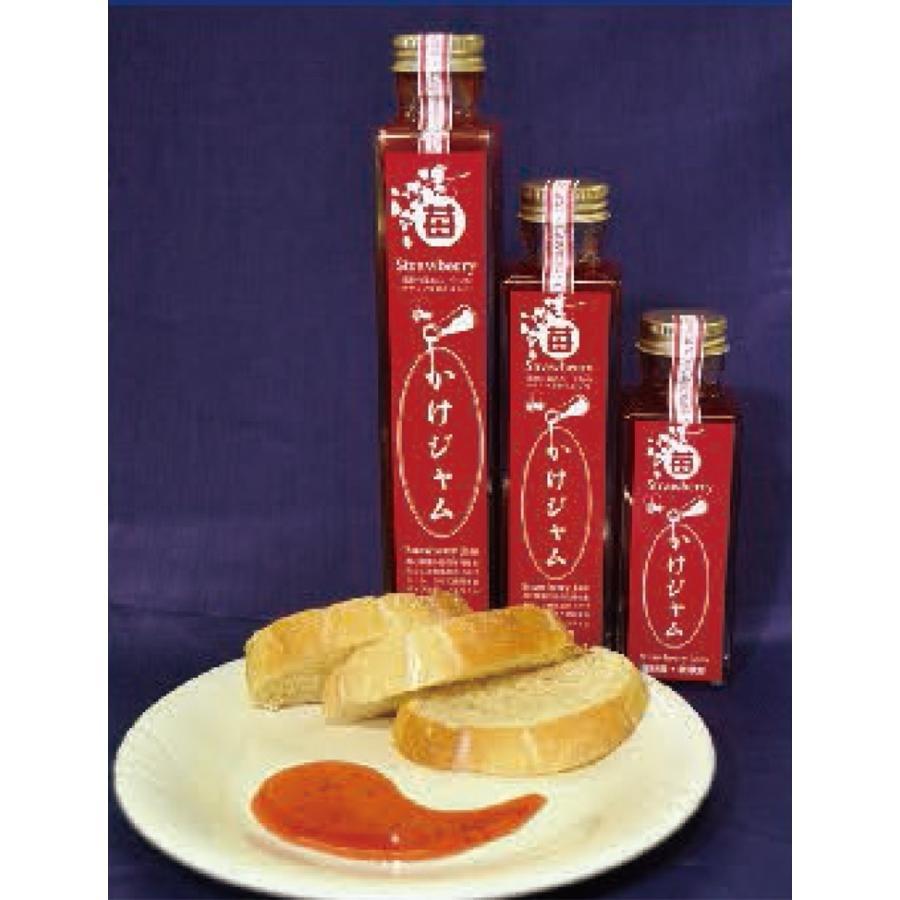ギフト 贈り物★苺のかけジャムプレーン3本セット(195g×3本)|koshigaya-brand|03