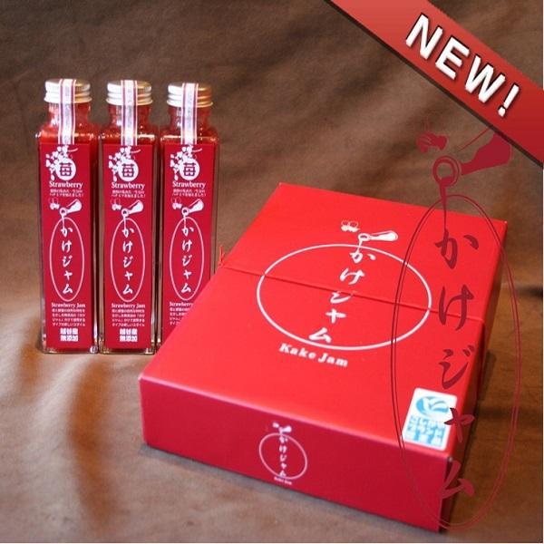ギフト 贈り物★苺のかけジャムプレーン3本セット(195g×3本) koshigaya-brand 04