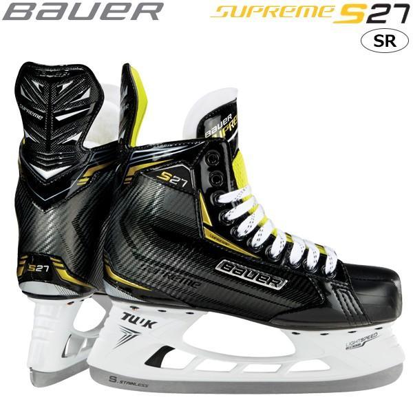 訳あり商品 BAUER S18 スケート靴 SR S18 BAUER シュープリーム S27 SR, TT&CO.:e21a48e1 --- airmodconsu.dominiotemporario.com